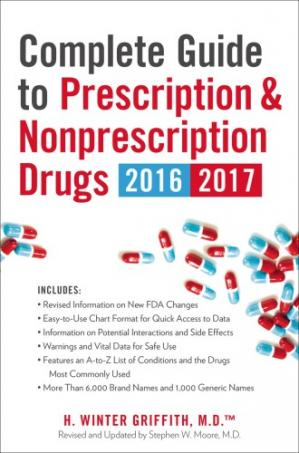 पुस्तक कवर Complete Guide to Prescription & Nonprescription Drugs 2016-2017