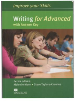 Book cover Malcolm Mann, Improve your skills: Writing for Advanced with answer key