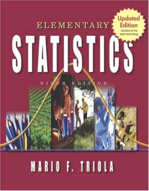 Kitabın üzlüyü Elementary Statistics: Updates for the latest technology, 9th Updated Edition