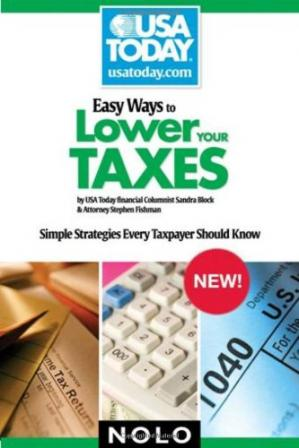 A capa do livro Easy Ways to Lower Your Taxes: Simple Strategies Every Taxpayer Should Know (USA Today Nolo Series)
