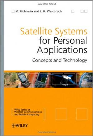 A capa do livro Satellite Systems for Personal Applications: Concepts and Technology (Wireless Communications and Mobile Computing)