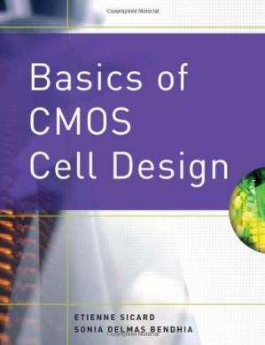 Book cover Basics of CMOS Cell Design