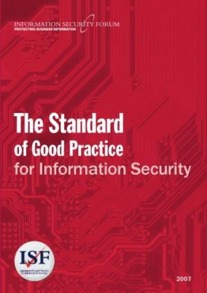Book cover The Standard of Good Practice for Information Security