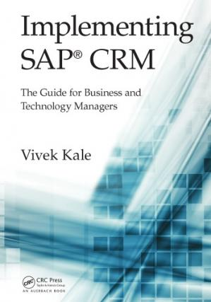 Copertina Implementing SAP CRM : the guide for business and technology managers