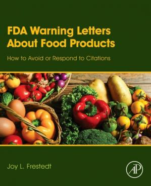 Sampul buku FDA Warning Letters About Food Products: How to Avoid or Respond to Citations
