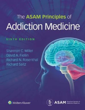 पुस्तक कवर The ASAM Principles of Addiction Medicine