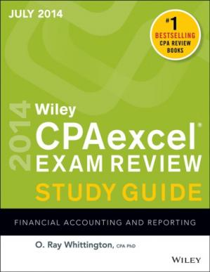 Okładka książki CPA Excel Exam Review Spring 2014 Study Guide: Financial Accounting and Reporting