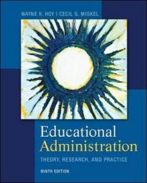 Book cover Educational Administration: Theory, Research, and Practice Educational Administration: Theory, Research, and Practice