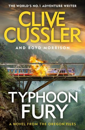 Book cover Typhoon Fury