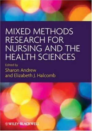 Book cover Mixed Methods Research for Nursing and the Health Sciences
