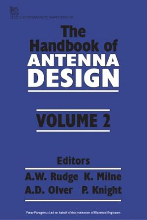 Обложка книги Handbook of Antenna Design, Vol. 2