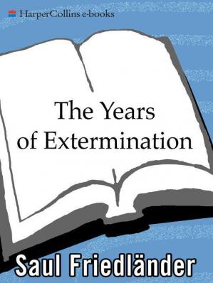 Portada del libro Nazi Germany and the Jews - Volume 02 - The Years of Extermination, 1939-1945
