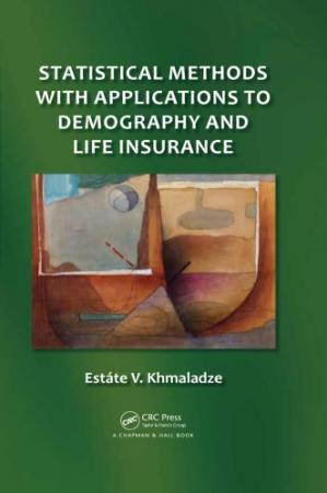 Εξώφυλλο βιβλίου Statistical methods with applications to demography and life insurance