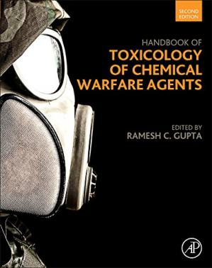 Portada del libro Handbook of Toxicology of Chemical Warfare Agents