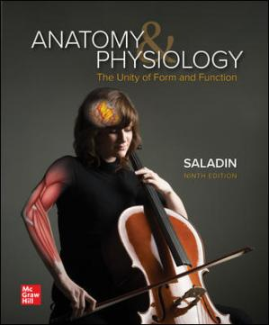 Book cover Anatomy & Physiology  The Unity of Form and Function 9th Ed