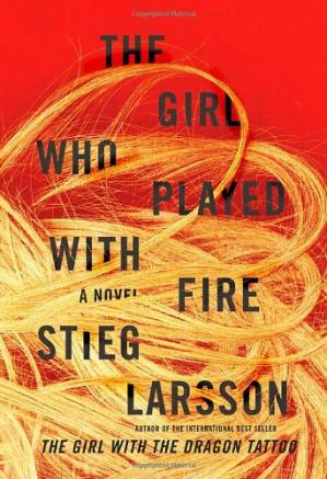 पुस्तक कवर The Girl who Played with Fire