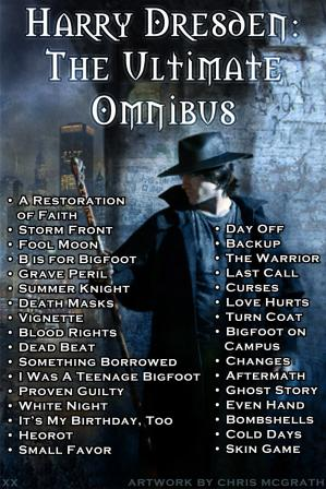 Book cover Dresden Files: Harry Dresden-The Ultimate Omnibus