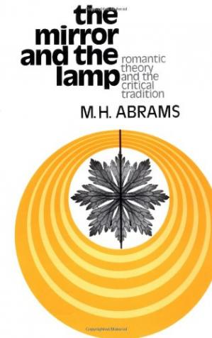 Book cover The Mirror and the Lamp: Romantic Theory and the Critical Tradition (Galaxy Books)