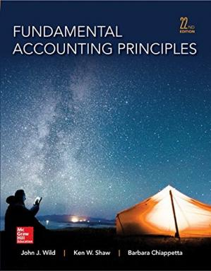 Copertina Fundamental Accounting Principles