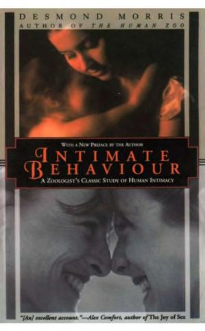 Book cover Intimate Behavior