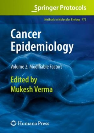 Book cover Cancer Epidemiology: Modifiable Factors