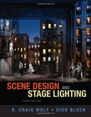 Book cover Scene Design and Stage Lighting