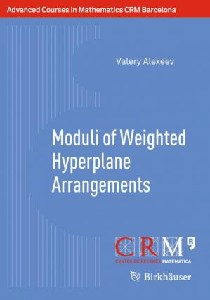 Book cover Moduli of Weighted Hyperplane Arrangements