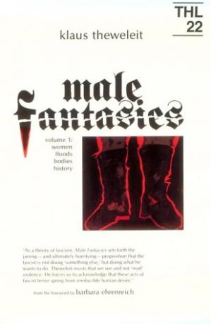 Book cover MALE FANTASIES Volume 1: Women, Floods, Bodies, History