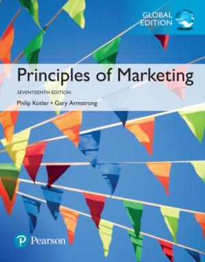 Book cover Principles of Marketing
