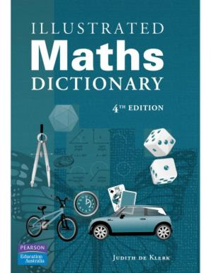 La couverture du livre Illustrated Maths Dictionary