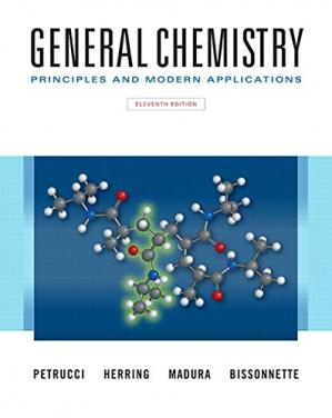 Copertina General chemistry: principles and modern applications