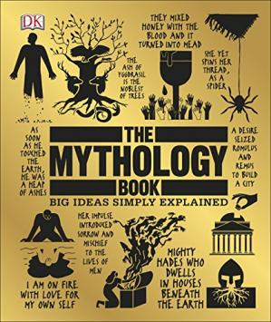A capa do livro The Mythology Book (Big Ideas Simply Explained)