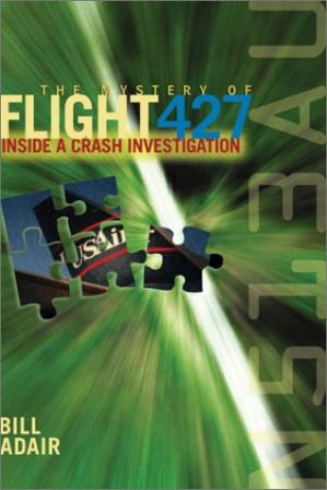 غلاف الكتاب The Mystery of Flight 427: Inside a Crash Investigation