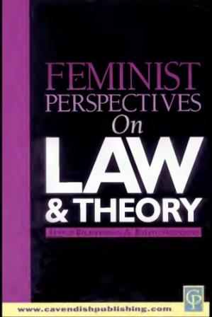 Bìa sách Feminist Perspectives on Law & Theory