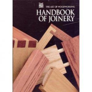 Book cover The Art of Woodworking Handbook of joinery