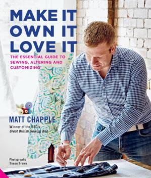 A capa do livro Make It, Own It, Love It: The Essential Guide to Sewing, Altering and Customizing