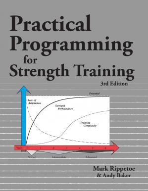 Portada del libro Practical Programming for Strength Training, 3rd Edition