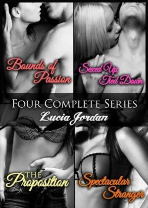 Book cover Bounds Of Passion, , Spectacular Stranger, The Proposition
