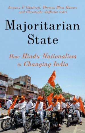 Book cover Majoritarian State: How Hindu Nationalism Is Changing India