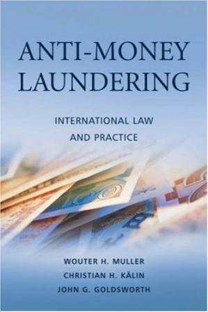 Εξώφυλλο βιβλίου Anti-Money Laundering: International Law and Practice