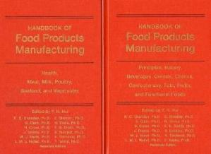 Book cover Handbook of food products manufacturing