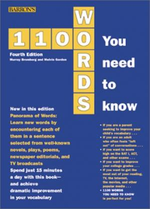 Copertina 1100 Words You Need to Know
