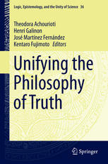 Εξώφυλλο βιβλίου Unifying the Philosophy of Truth