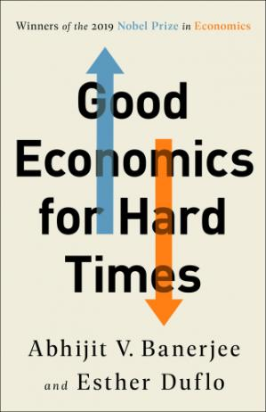 Book cover Good Economics for Hard Times