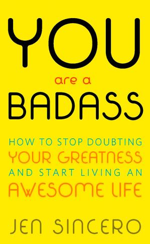 Book cover You are a Badass