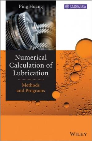 Buchdeckel Numerical Calculation of Lubrication: Methods and Programs