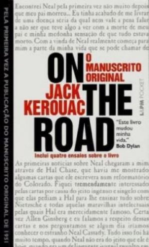 Buchdeckel On the Road: O Manuscrito Original