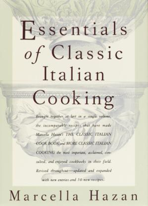 表紙 Essentials of Classic Italian Cooking