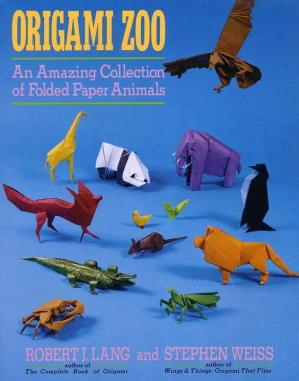 Book cover Origami Zoo