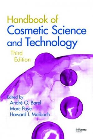 Copertina Handbook of Cosmetic Science and Technology